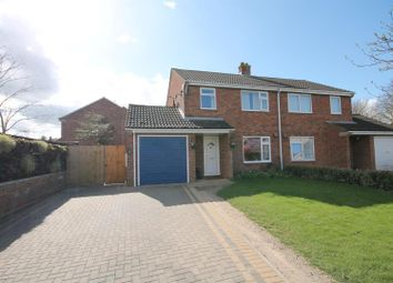 Thumbnail 3 bed semi-detached house for sale in Pine Close, Stamford