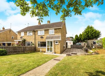 Thumbnail 3 bed semi-detached house for sale in Bennett Close, Chacombe, Banbury