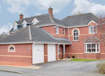 Thumbnail 4 bed detached house for sale in Dairy Lane, Brockhill, Redditch