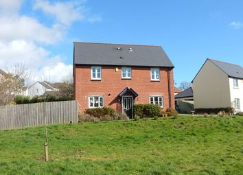 Thumbnail 3 bed detached house for sale in Three Acre Close, Axminster, Devon