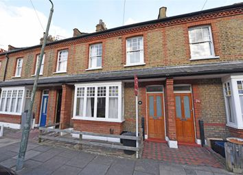 Thumbnail 2 bed terraced house to rent in Lewin Road, London