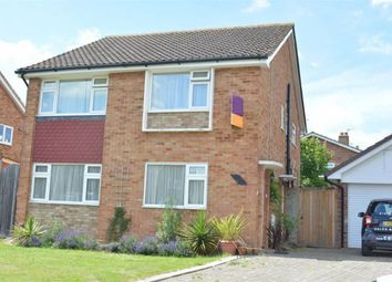 Thumbnail 2 bed maisonette to rent in Nightingale Drive, West Ewell, Epsom