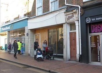Thumbnail Retail premises to let in 44 High Street, Sittingbourne