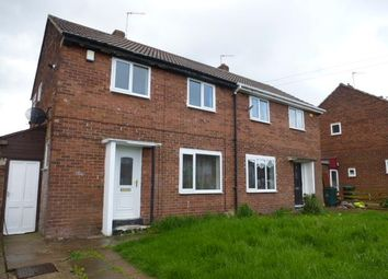 Thumbnail 3 bed semi-detached house to rent in Southfield Road, Thorne, Doncaster