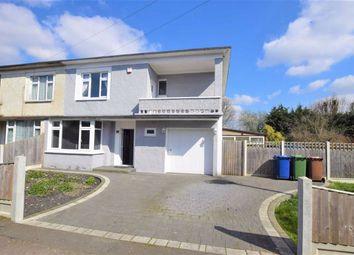 Thumbnail 4 bed semi-detached house for sale in Queen Elizabeth Avenue, East Tilbury, Essex