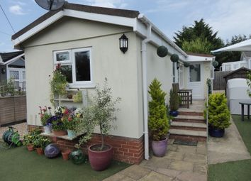Thumbnail 1 bed mobile/park home for sale in Chapel Farm Park, Guildford Road, Normandy, Guildford, Surrey