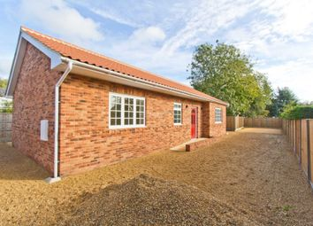 Thumbnail 3 bedroom detached bungalow for sale in Tuns Road, Necton, Swaffham