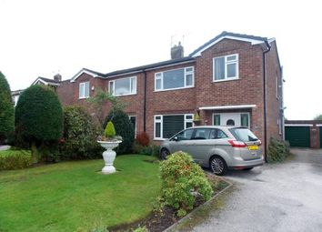 Thumbnail 3 bed semi-detached house for sale in Acton Avenue, Appleton, Warrington, Cheshire