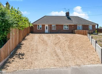 Thumbnail 3 bed semi-detached bungalow for sale in St Georges Terrace, Gooderstone, King's Lynn