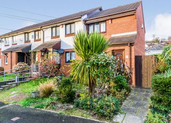 Thumbnail 2 bed end terrace house for sale in Finch Close, Laira, Plymouth
