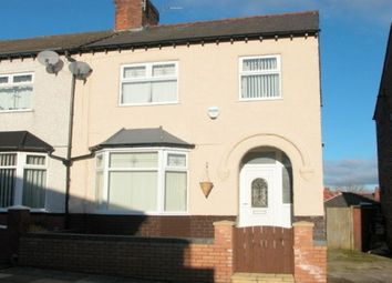 Thumbnail 3 bed semi-detached house to rent in Valerian Road, Birkenhead