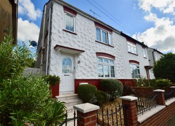Thumbnail 3 bed semi-detached house for sale in Hollybush Road, Gravesend