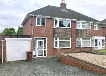 Thumbnail 3 bed semi-detached house to rent in Radnor Rise, Hednesford, Cannock
