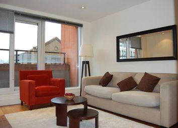 Thumbnail 1 bedroom flat to rent in Peninsula Apartments, London