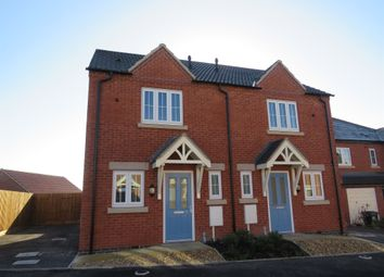 Thumbnail 2 bed semi-detached house for sale in Round House Close, Off Heanor Road, Smalley, Ilkeston