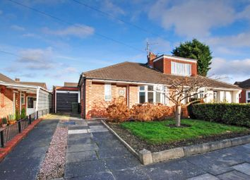 Thumbnail 2 bedroom semi-detached bungalow for sale in Boulmer Gardens, Wideopen, Newcastle Upon Tyne