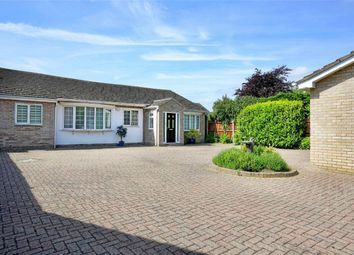 Thumbnail 4 bed detached bungalow for sale in Eaton Ford, St Neots, Cambridgeshire