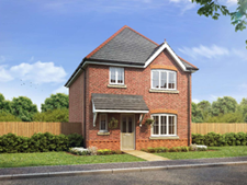 Thumbnail 3 bed detached house to rent in Llanfair Road, Abergele