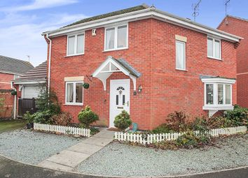 Thumbnail 3 bed detached house for sale in Foulds Lane, Blaby, Leicester