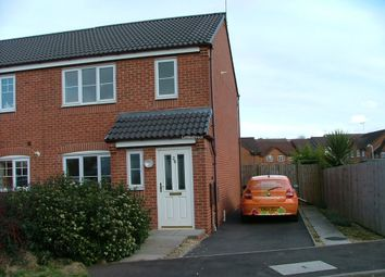 Thumbnail 3 bed semi-detached house to rent in The Ridings, Cannock