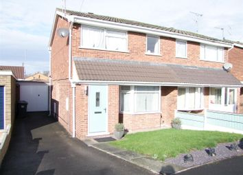 Thumbnail 3 bed semi-detached house for sale in Waverley Lane, Burton-On-Trent