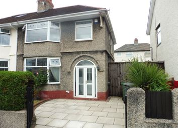 Thumbnail 3 bed semi-detached house for sale in Everest Road, Tranmere, Birkenhead
