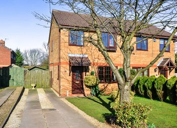 Thumbnail 3 bedroom semi-detached house for sale in Belfry Close, Kirkby-In-Ashfield, Nottingham