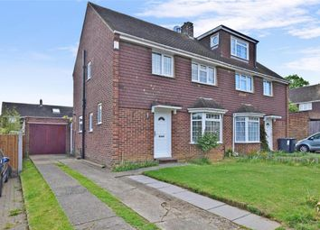 Thumbnail 3 bed semi-detached house for sale in Ash Close, Aylesford, Kent