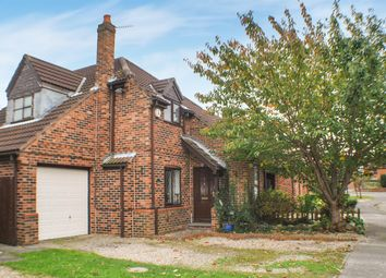 Thumbnail 3 bedroom detached house for sale in Danes Court, Riccall, York