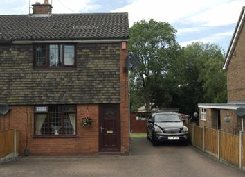 Thumbnail 2 bed semi-detached house for sale in St. Johns Road, Biddulph, Stoke-On-Trent