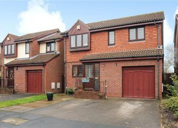Thumbnail 3 bedroom detached house for sale in Craigwell Close, Staines-Upon-Thames, Surrey