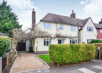Thumbnail 3 bed semi-detached house for sale in Burstow Road, Raynes Park