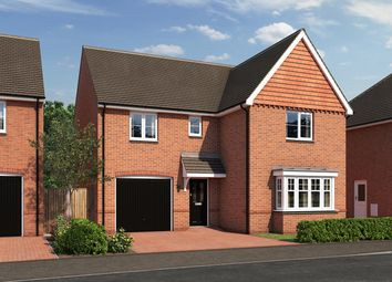 "Thumbnail 4 bed detached house for sale in ""The Grainger"" at Moormead Road, Wroughton, Swindon"
