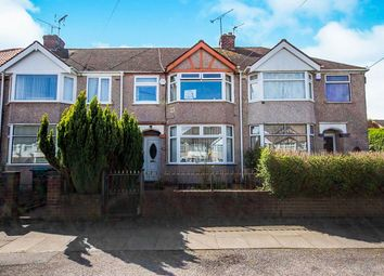 Thumbnail 3 bed terraced house for sale in Rotherham Road, Holbrooks, Coventry