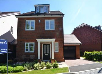 Thumbnail 4 bed detached house for sale in Adam Brown Avenue, Blackwater, Surrey