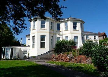 Thumbnail 2 bed flat to rent in Carlton Manor, 9 Roundham Road, Paignton, Devon