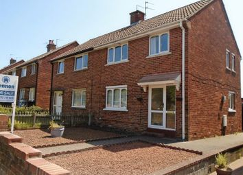 Thumbnail 3 bedroom semi-detached house for sale in Woodhill Drive, Morpeth