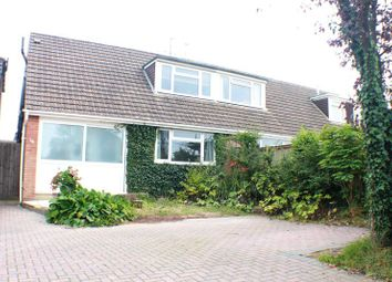 Thumbnail 3 bedroom semi-detached house for sale in Lodge Road, Locks Heath, Southampton