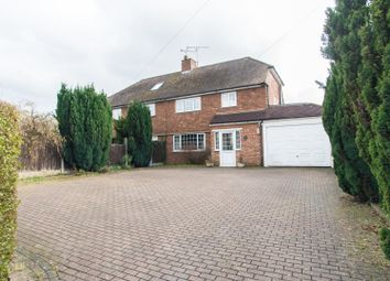 Thumbnail 3 bed semi-detached house for sale in North Road, Brentwood