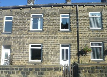 Thumbnail 2 bed terraced house to rent in Chapel Hill, Clayton West, Huddersfield, West Yorkshire