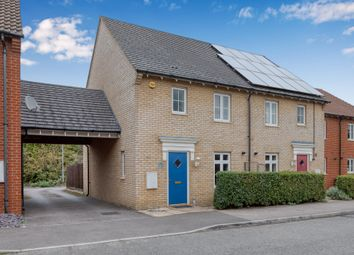 Thumbnail 3 bed semi-detached house for sale in Prince Charles Avenue, Stotfold, Hitchin, Herts