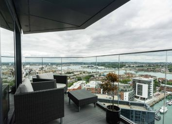 Thumbnail 3 bed flat for sale in The Moresby Tower, Admirals Quay, Southampton