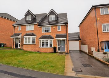 Thumbnail 3 bed semi-detached house for sale in Woodside View, Middleton, Leeds