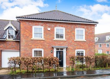 Thumbnail 4 bed link-detached house for sale in St Michaels Avenue, Aylsham, Norwich