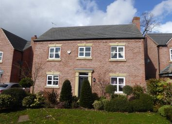 Thumbnail 4 bed detached house for sale in Henka Road, Penley, Wrexham