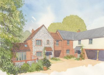 Thumbnail 4 bedroom link-detached house for sale in The Street, Weybourne, Holt
