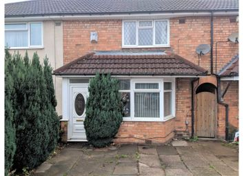 Thumbnail 2 bed terraced house for sale in Circular Road, Birmingham