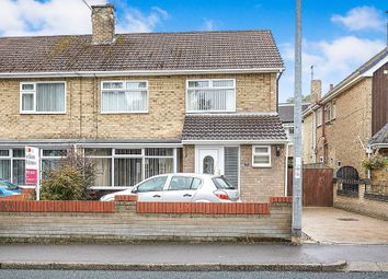 Thumbnail 3 bed semi-detached house for sale in Great Gutter Lane East, Willerby, Hull