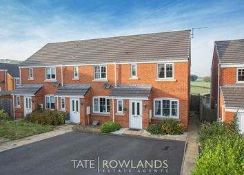 Thumbnail 3 bed end terrace house for sale in Ffordd Yr Ysgol, Flint
