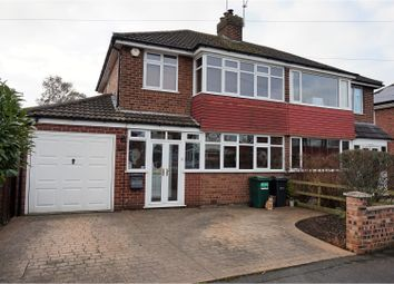 Thumbnail 3 bed semi-detached house for sale in Alwyn Gardens, Chester